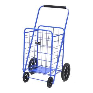 Easy Wheels Metal Super Shopping Cart by Easy Wheels