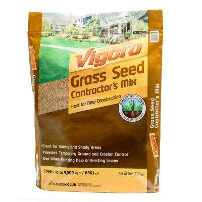 20 lb. Contractor's Grass Seed Mix North