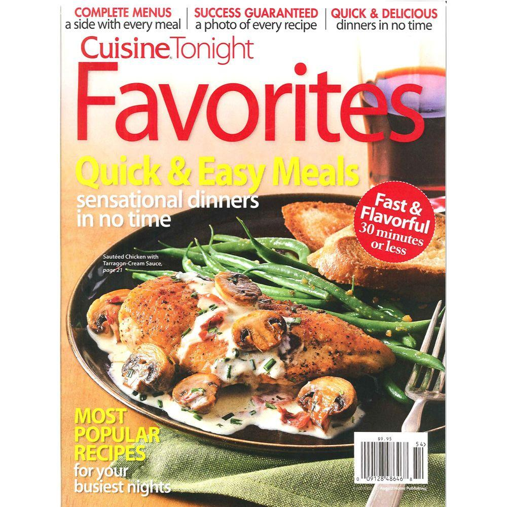 Cuisine At Home Cuisine Tonight Magazine