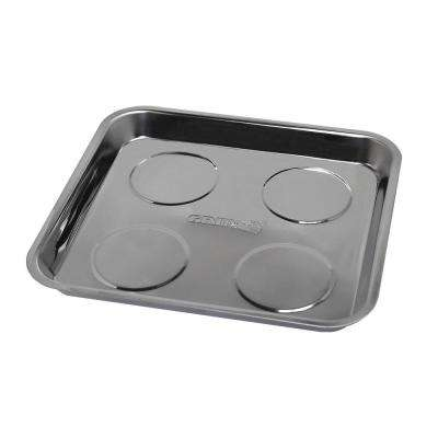 10 in. D x 9-1/2 in. W x 1 in. H Magnetic Parts Tray