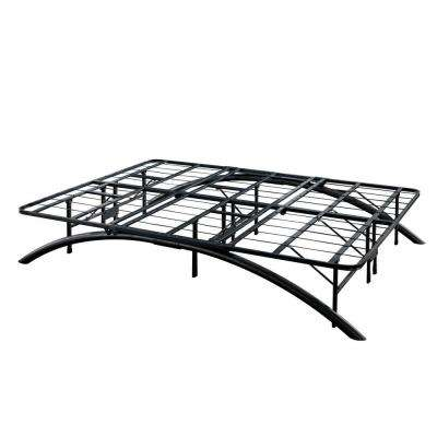 Queen-Size Dome Arc Platform Bed Frame in Black