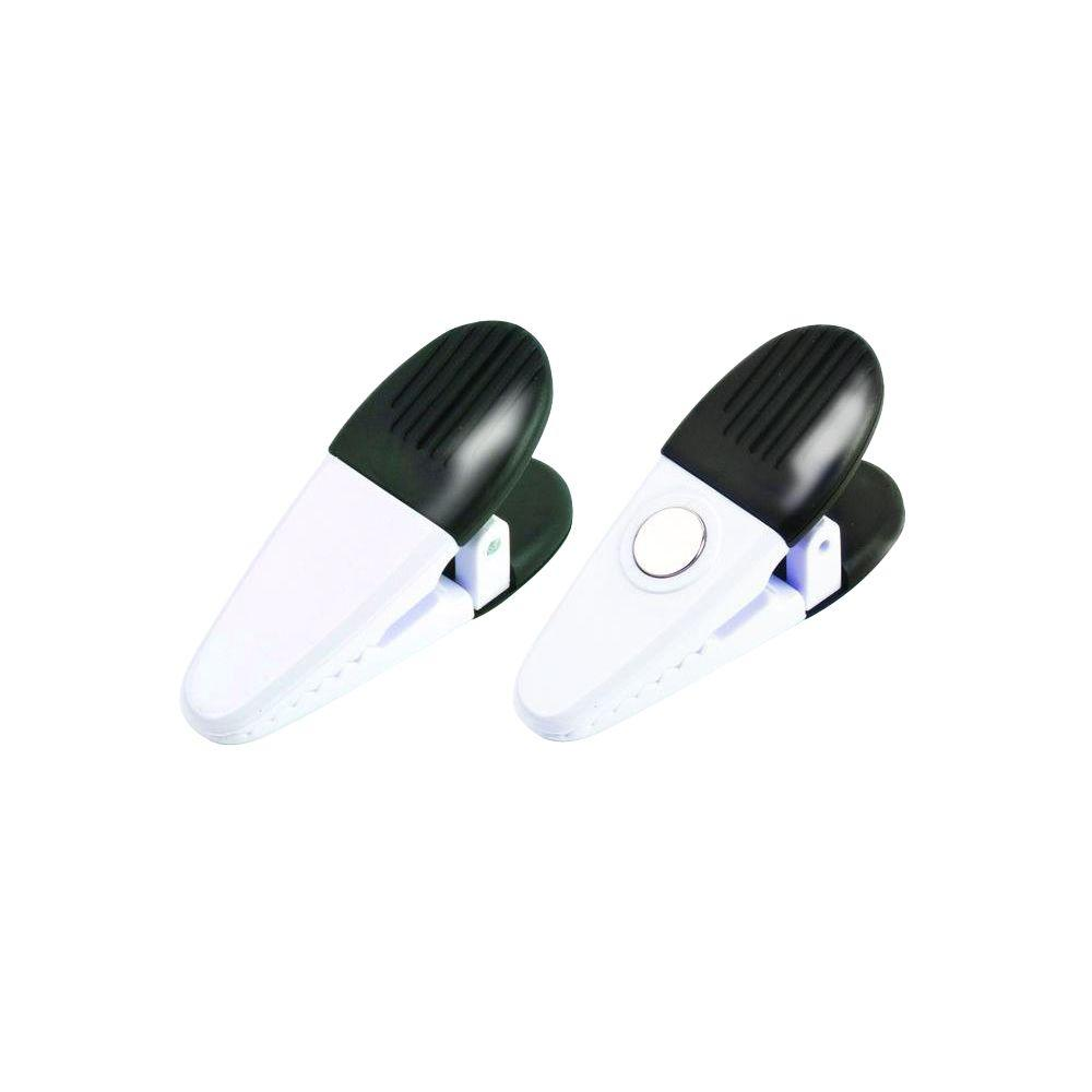 White Utility Magnetic Clips (2-Piece per Pack)