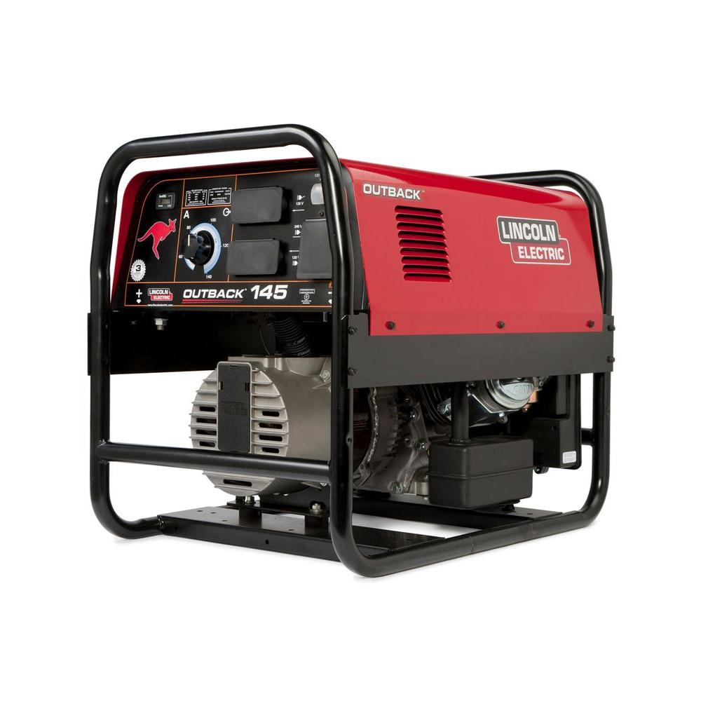 145 Amp Outback 145 Engine Driven Welder (Kohler), 4750-Watt Peak AC