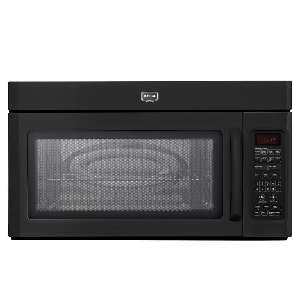 Maytag 2.0 cu. ft. Over the Range Microwave in Black with Sensor Cooking