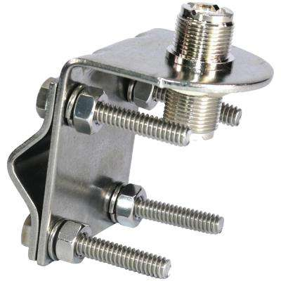 Stainless Steel SO-239 to SO-239 Antenna Mirror Mount