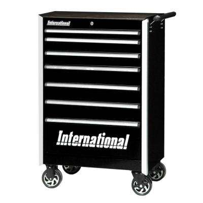 Pro Series 27 in. 7-Drawer Cabinet, Black