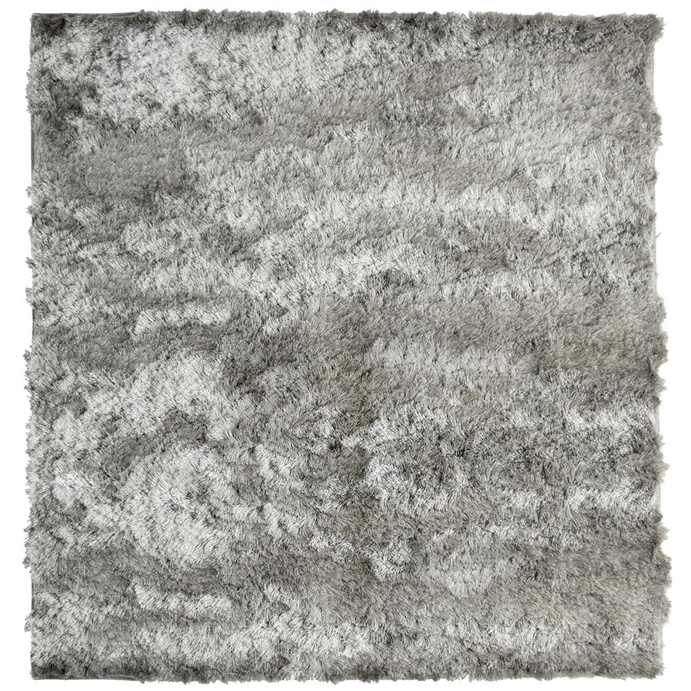 Home Decorators Collection So Silky Grey 7 ft. x 7 ft. Area Rug