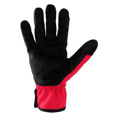 Medium Year Round Comfort Fleece Fabric Work Glove (Pack of 2-Pairs)
