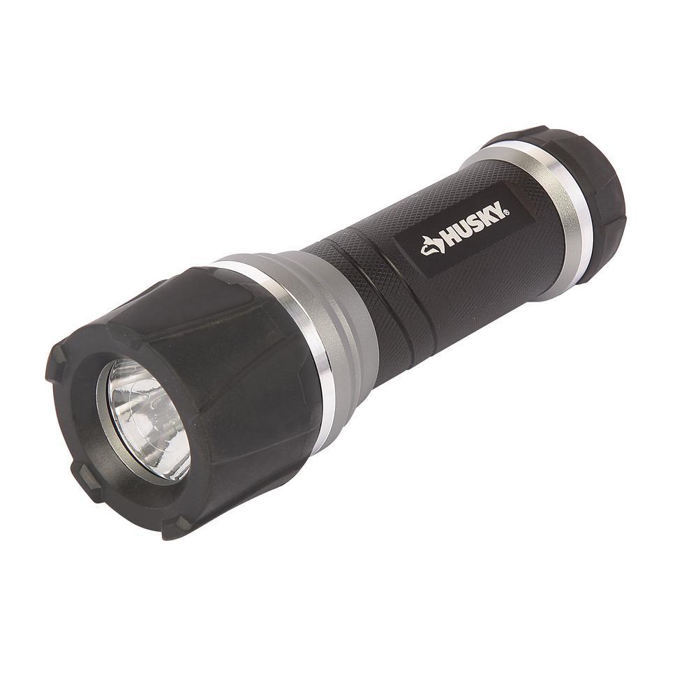 200 Lumens Aluminum Virtually Unbreakable Flashlight