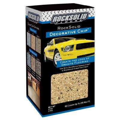 2.5 lbs. Saddle Tan Decorative Color Chips (Case of 4)