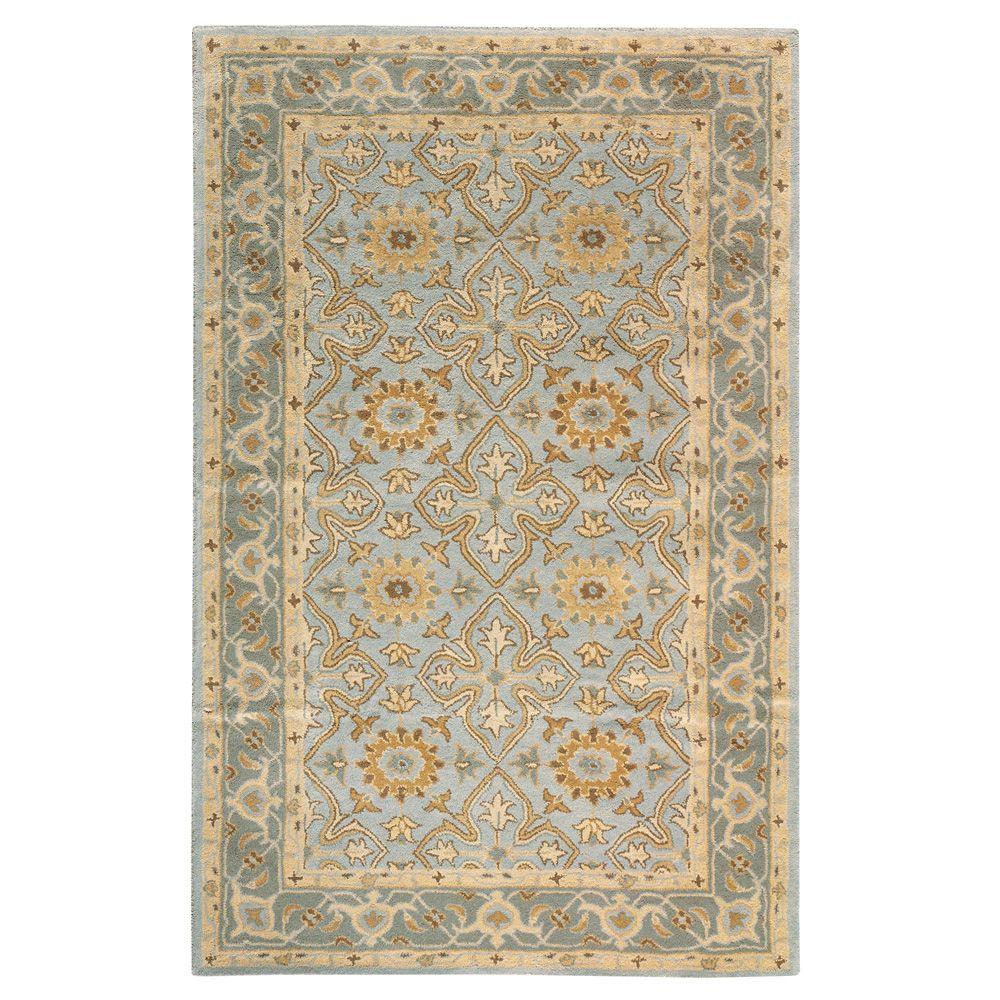 Home Decorators Collection Tudor Porcelain 5 Ft X 8 Ft Area Rug