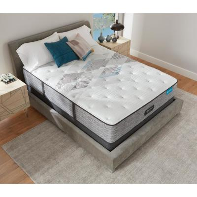 Harmony Lux HLC-1000 13.75 in. Medium Hybrid Tight Top Twin XL Mattress with 6 in. Box Spring Set
