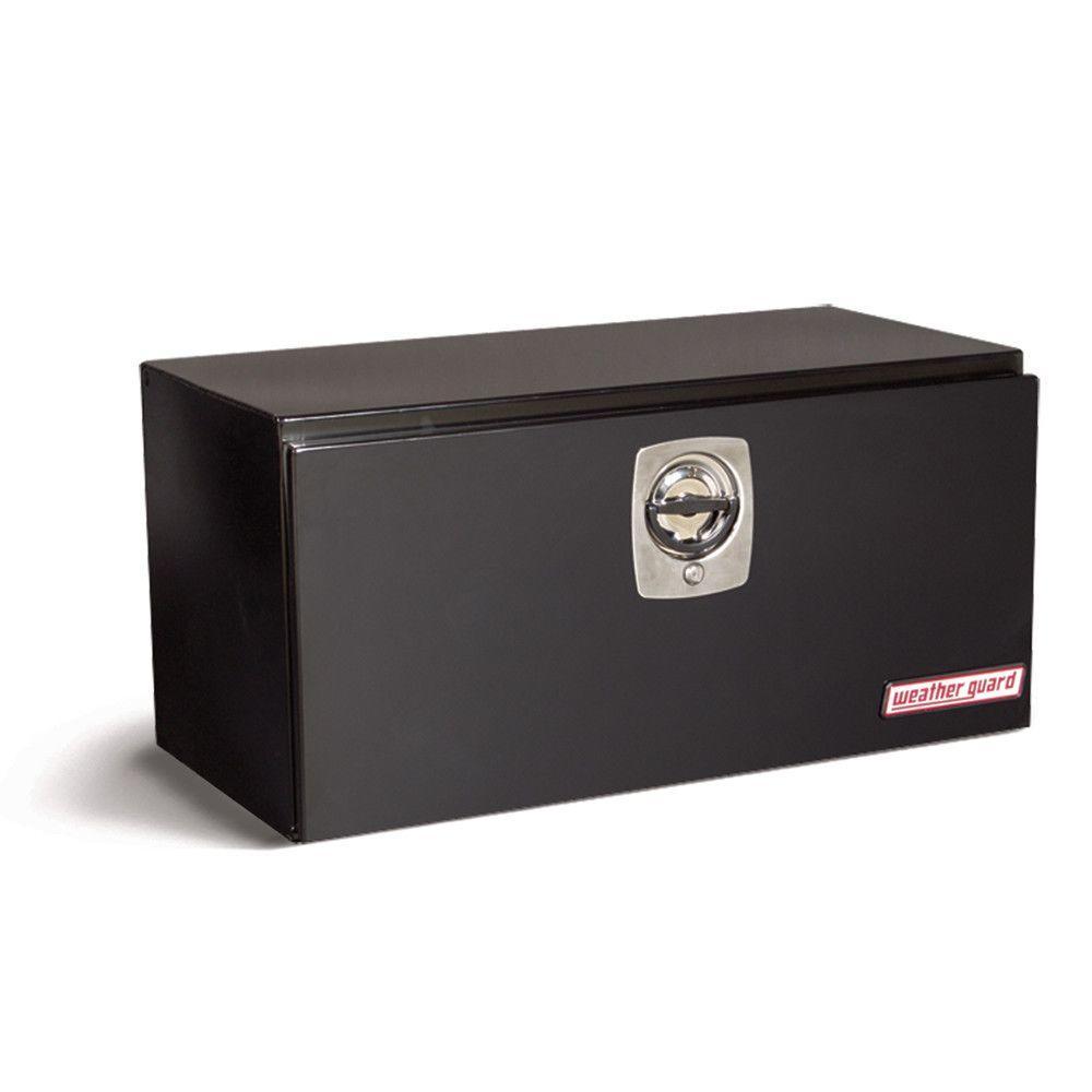36.62 in. Steel Underbed Box in Black