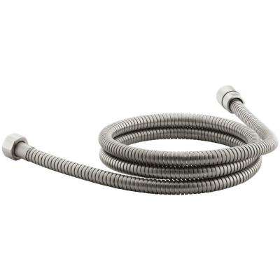 MasterShower 72 in. Metal Shower Hose in Vibrant Brushed Nickel