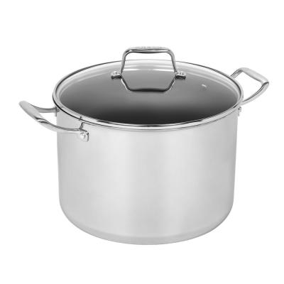 12 Qt. Stainless Steel Stockpot with Lid