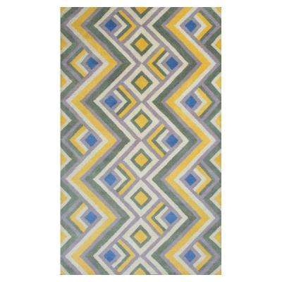 Gold/Lilac Accents 5 ft. x 8 ft. Area Rug