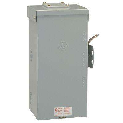 100 Amp 240-Volt Non-Fused Emergency Power Transfer Switch