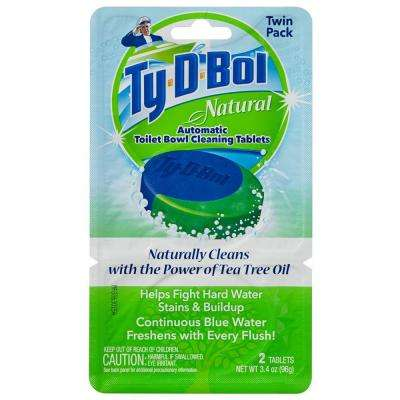 1.7 oz. Natural Automatic Toilet Bowl Cleaner Tablet (6-Pack)