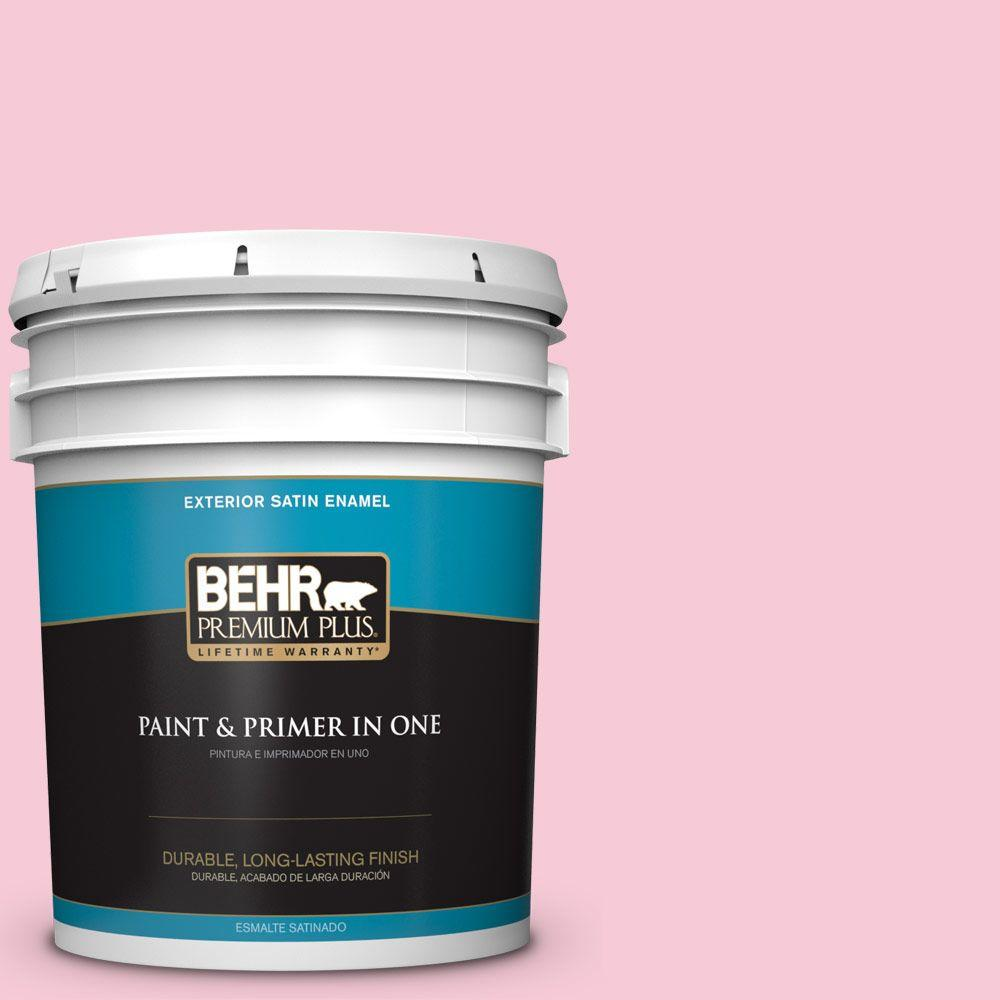 5-gal. #110A-3 Palace Rose Satin Enamel Exterior Paint