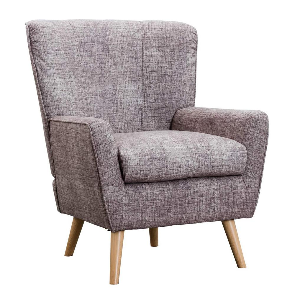 Boyel Living Gray Arm Chairs, Mid Century Modern Fabric Accent Chair was $443.97 now $305.8 (31.0% off)