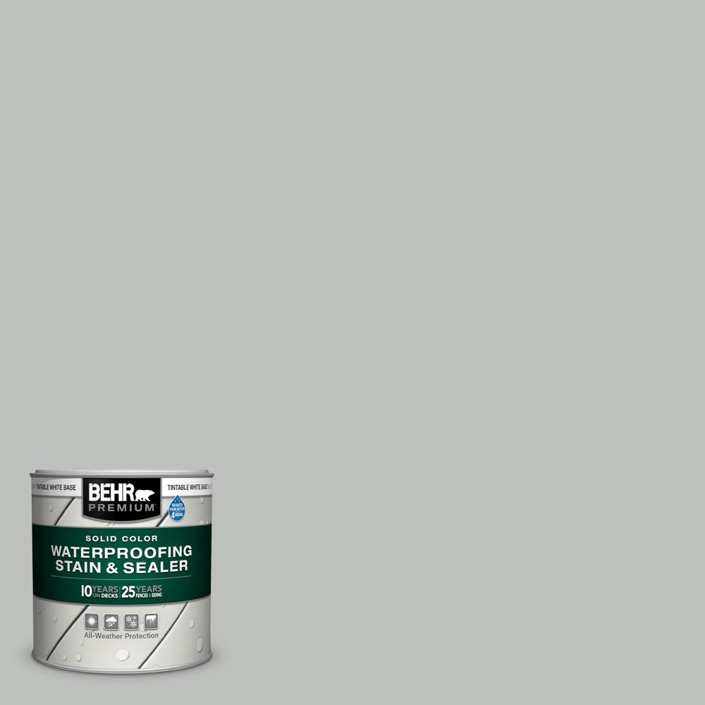 Behr Premium 8 Oz Sc 365 Cape Cod Gray Solid Color