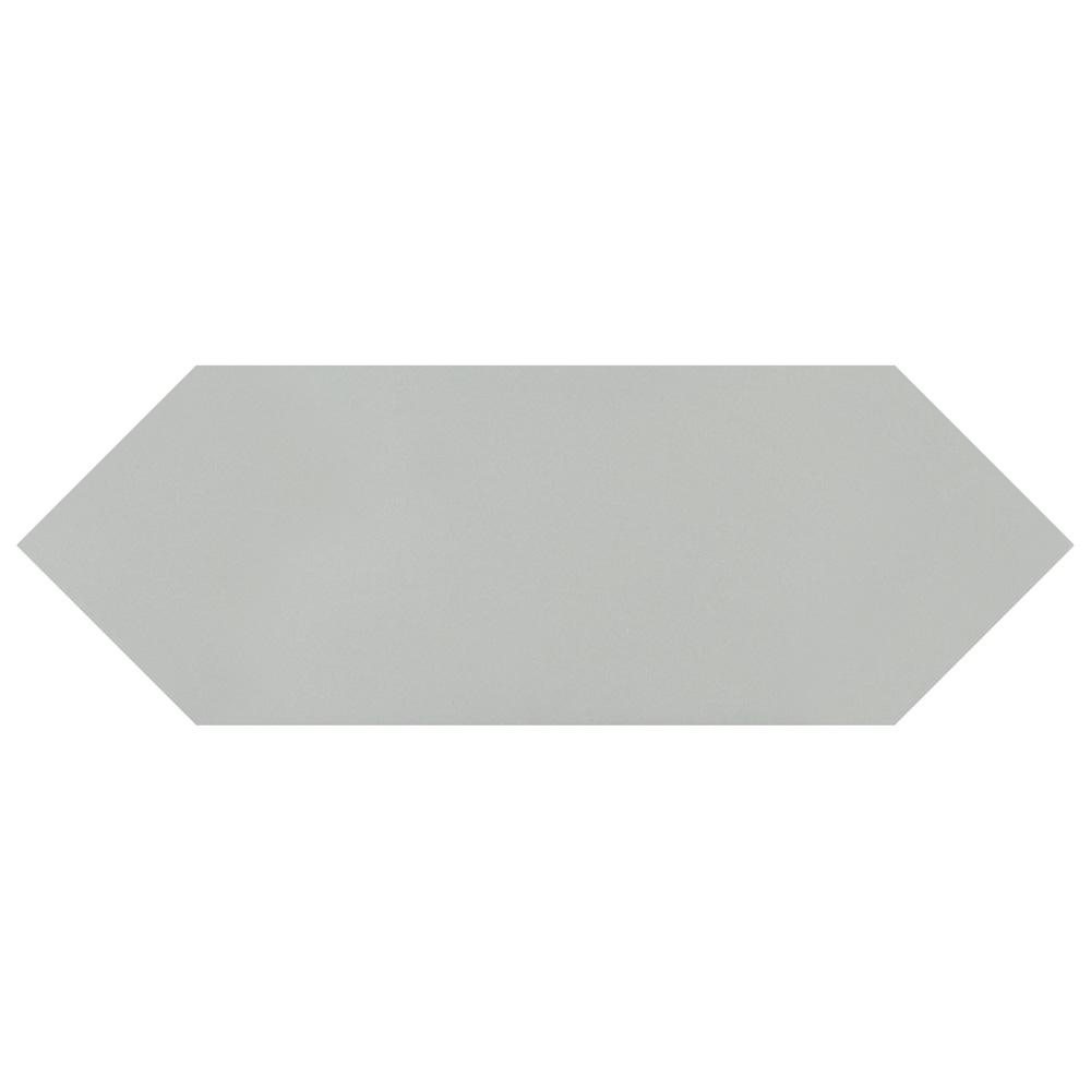 Merola Tile Kite Dark Grey 4 in. x 11-3/4 in. Porcelain Subway Floor and Wall Tile (11.81 sq. ft. / case)