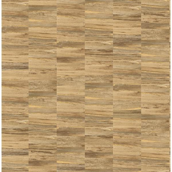 Fine Decor Hugo Copper Faux Wood Wallpaper 2900-24906
