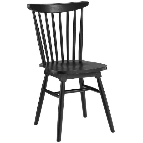 MODWAY Amble Black Dining Side Chair EEI-1539-BLK