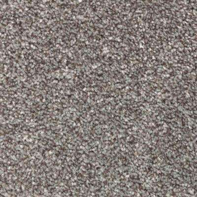 Carpet Sample - Superiority II - Color Mountain Pass Texture 8 in. x 8 in.