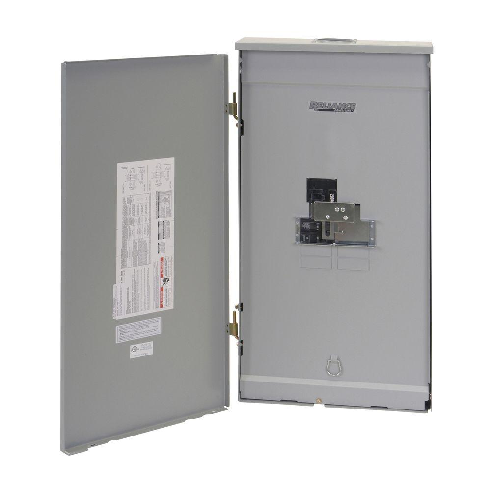 Reliance Controls 200 Amp Outdoor Transfer Panel