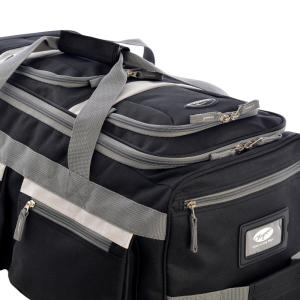 ad910e32f7a5 Olympia USA 26 in. 8-Pocket Rolling Duffel Bag SRD-26-BK - The Home ...