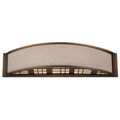 Clingman 2-Light Weathered Bronze Wall Sconce