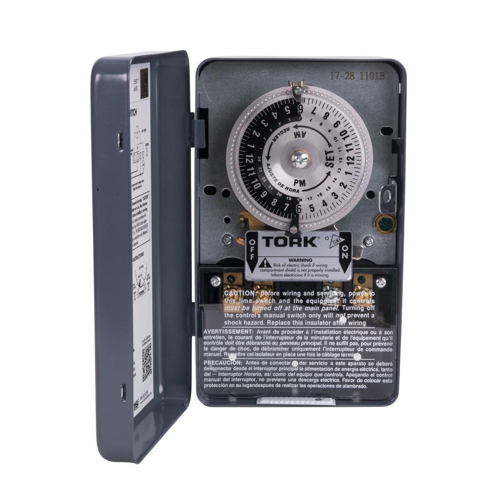 Tork Timers Wiring Devices Light Controls The Home Depot