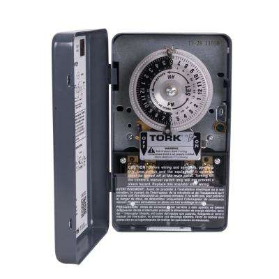 40 Amp 1-Channel 24-Hours Indoor Mechanical Time Switch for Same Time Every Day