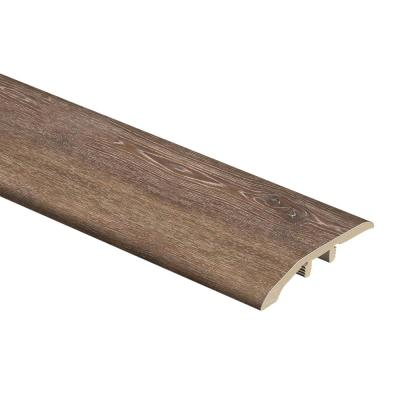 Texas Oak 1/3 in. Thick x 1-13/16 in. Wide x 72 in. Length Vinyl Multi-Purpose Reducer Molding