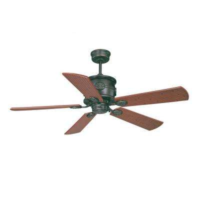McNeir 52 in. English Bronze Indoor/Outdoor Ceiling Fan