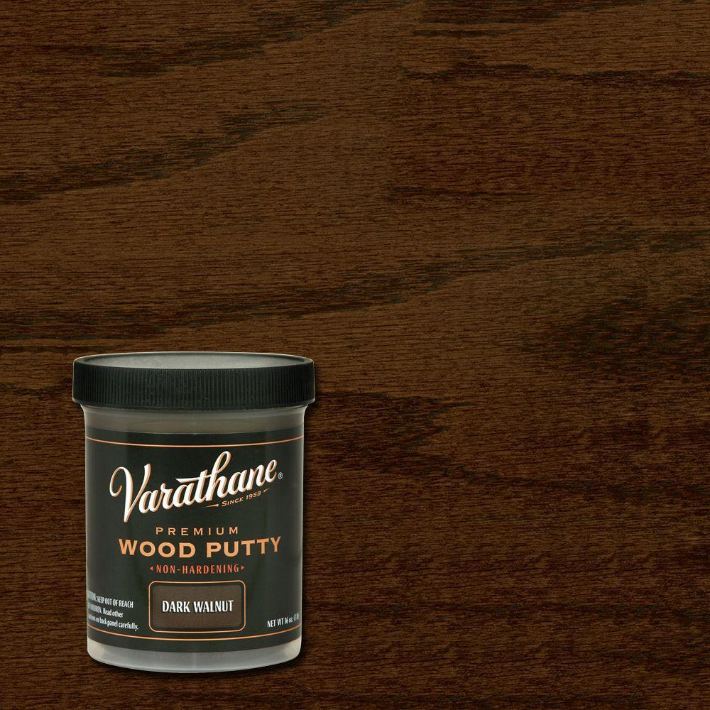 Varathane 16 Oz Dark Walnut Wood Putty Case Of 4