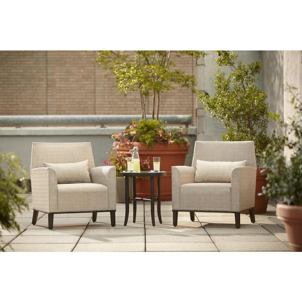 Hampton Bay Aria Patio Deep Seating Chairs (2-Pack