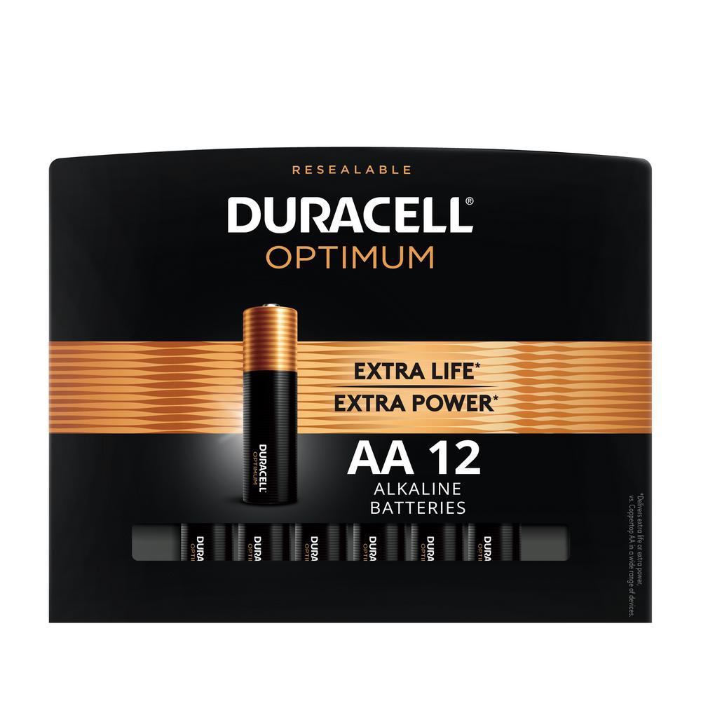 Optimum AA Alkaline Battery (12-Pack)