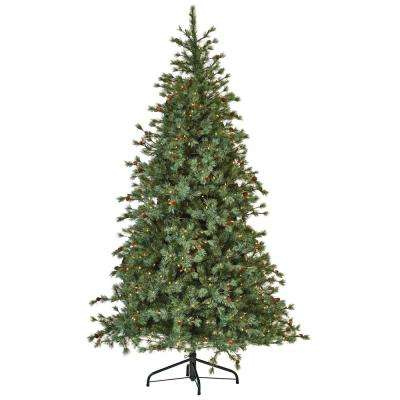Weeping Blue Pine 7.5 ft. Artificial Christmas Tree