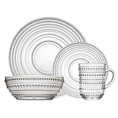 Lumina Crystal Dinnerware Set 16 pc