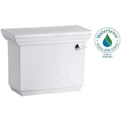 Memoirs Stately 1.28 GPF Single Flush Toilet Tank Only with AquaPiston Flush Technology in White