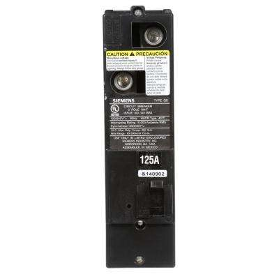 125 Amp Double-Pole 10kA Type QS Multi-Family Main Breaker