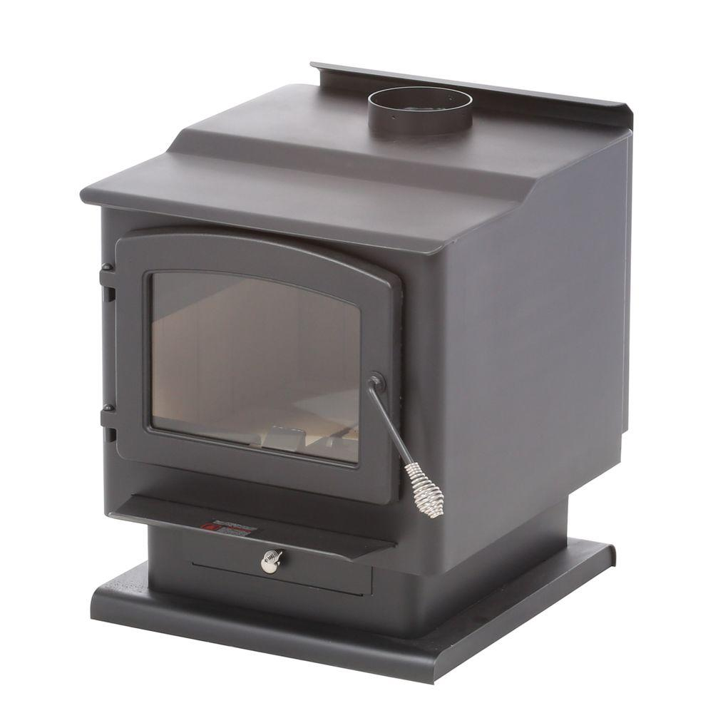 englander 2 400 sq ft wood burning stove 30 nch the home depot