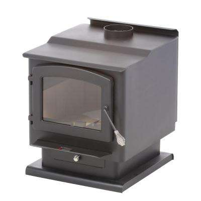 2,400 sq. ft. Wood-Burning Stove