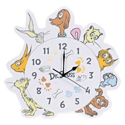 Dr. Seuss What Pet Should I Get? Wall Clock