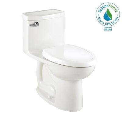Compact Cadet 3-FloWise Tall Height 1.28 GPF Single Flush Elongated Toilet in White, Seat Included