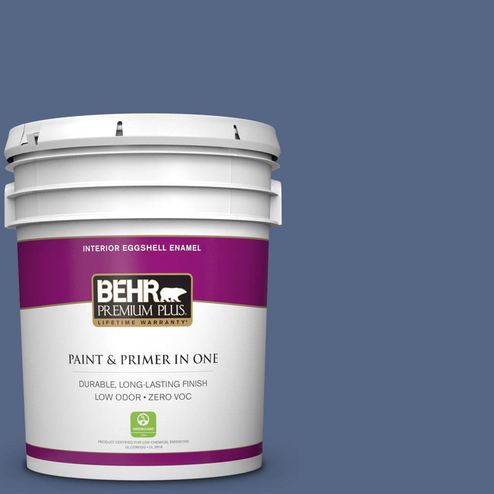 5 gal. #610D-6 Enduring Eggshell Enamel Zero VOC Interior Paint and