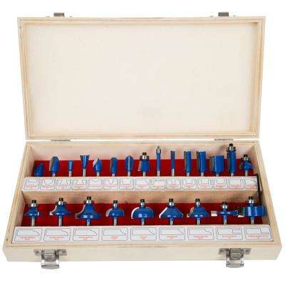 Carbide Tipped Multi-Purpose Drill Bit Set (24-Piece)