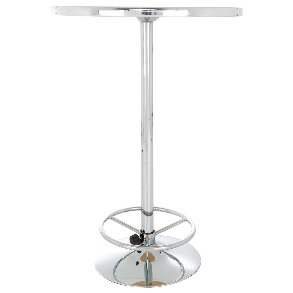 Miller Lite Retro Chrome Pub/Bar Table